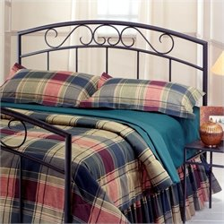 Hillsdale Wendell Spindle Headboard in Black