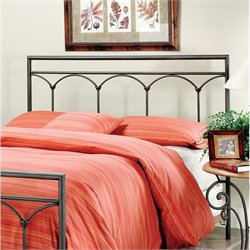Hillsdale McKenzie Spindle Headboard in Brown