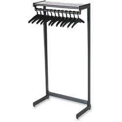 Quartet One Shelf Garment Rack