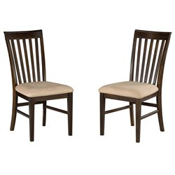 Atlantic Furniture Montreal Dining Chair (Set of 2)