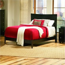 Atlantic Furniture Miami Modern Platform Bed in Espresso