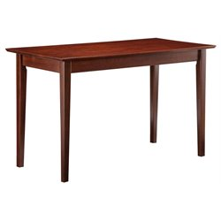 Atlantic Furniture Shaker Work Table in Antique Walnut