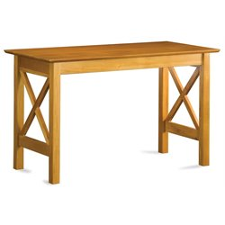 Atlantic Furniture Lexington Work Table  in Caramel Latte
