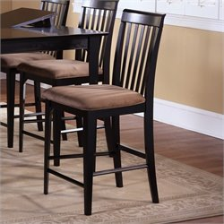 Atlantic Furniture Montreal Pub Chair in Espresso
