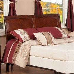 Atlantic Furniture Portland Panel Headboard in Brown
