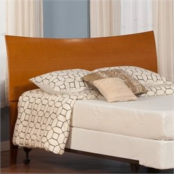Atlantic Furniture Soho Panel Headboard in Caramel Latte