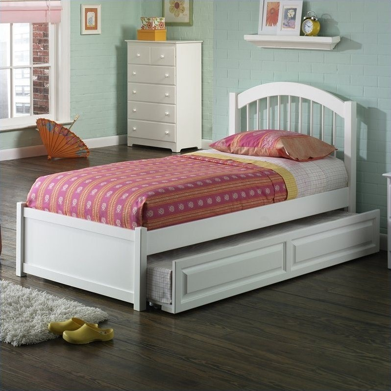platform bed with trundle atlantic furniture platform bed with trundle in 16773