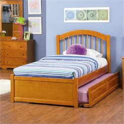 Atlantic Furniture Windsor Platform Bed w Trundle