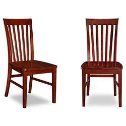 Atlantic Furniture Mission Dining Chairs in Walnut (Set of 2)