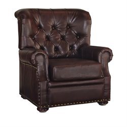 Accent Chair in Brown