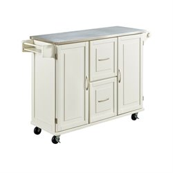 Kitchen Cart in White