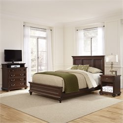 3 Piece Queen Panel Bedroom Set