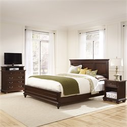 3 Piece King Panel Bedroom Set