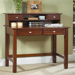 Wood Laptop Writing Desk in Cherry