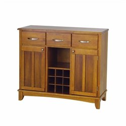 Wood Top Cottage Oak Buffet