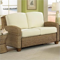 Home Styles Cabana Banana Loveseat In Honey Finish