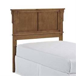 Twin Panel Headboard in Cottage Oak