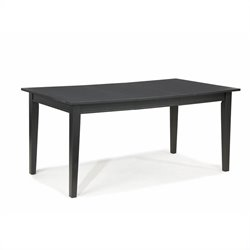 Casual Dining Table in Ebony Finish