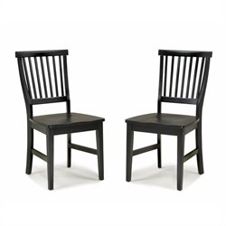 Dining Chair in Ebony (Set of 2)