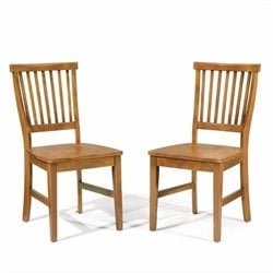 Dining Chair in Cottage Oak Finish (Set of 2)