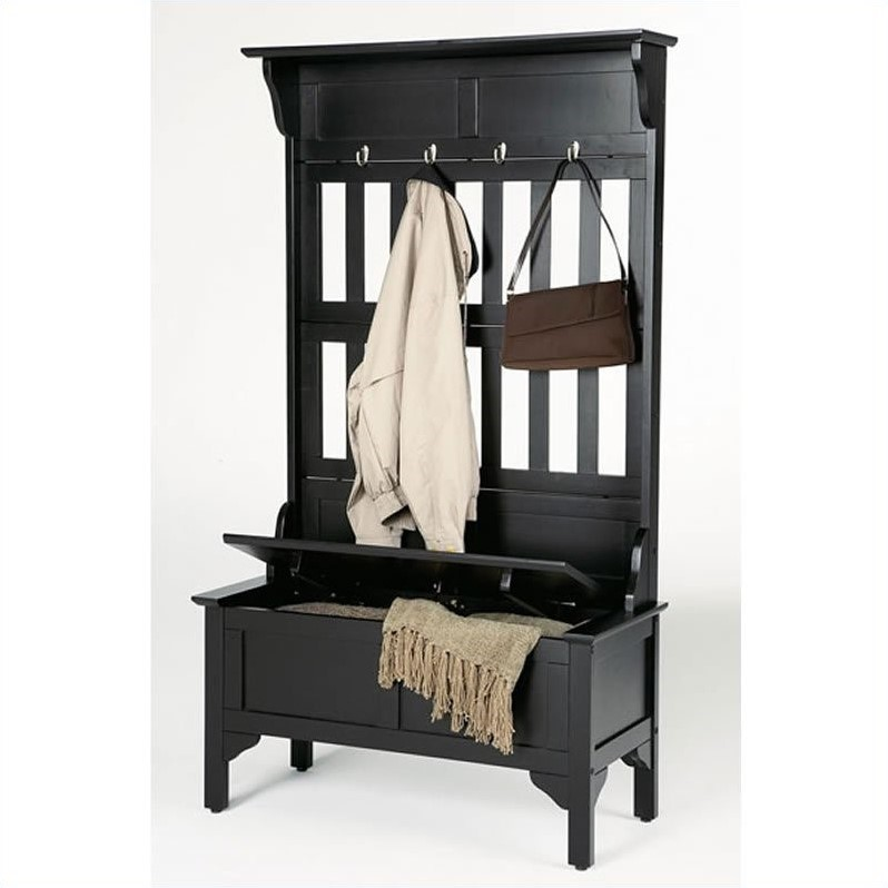 and Storage Bench in Black