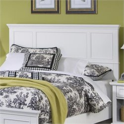 Queen Panel Headboard in Off-White