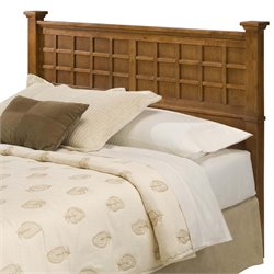 Full Queen Panel Headboard in Cottage Oak