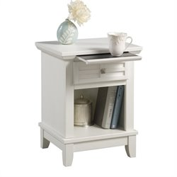 Night Stand in White Finish