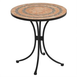 Bistro Table in Terra Cotta