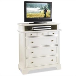 TV Media Chest White Finish