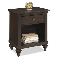Night Stand in Espresso Finish