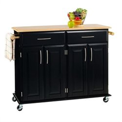 Kitchen Cart in Black