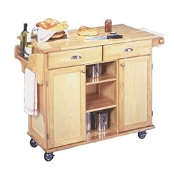 Kitchen Cart in Natural Finish
