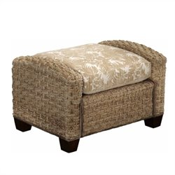 Ottoman in Honey Finish