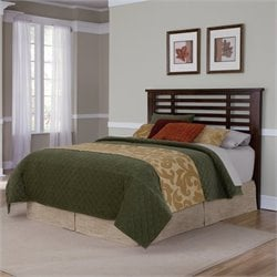 Home Styles Cabin Creek Bed in Chestnut