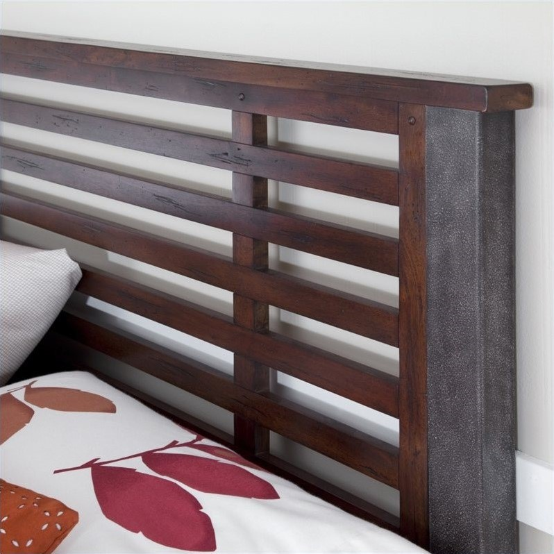 Bed in Chestnut Finish