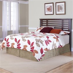 Home Styles Cabin Creek Bed in Chestnut Finish