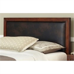 Home Styles Duet Queen Panel Headboard in Brown