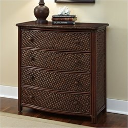 4 Drawer Chest in Refined Cinnamon Finish