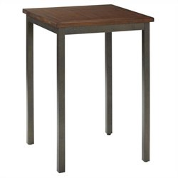 Home Styles Cabin Creek Bistro Table in Multi-step Chestnut