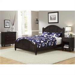 King Bed Set in Espresso