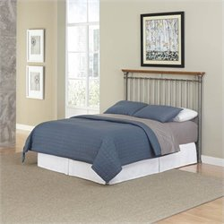 Spindle Headboard in Gray