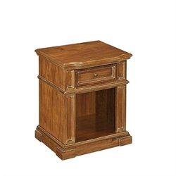 Night Stand in Natural Acacia