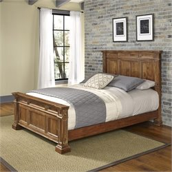 Panel Bed in Natural