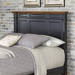 Panel Headboard in Black