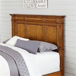 Panel Headboard in Oak