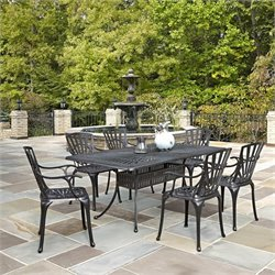 7 Piece Patio Dining Set in Charcoal