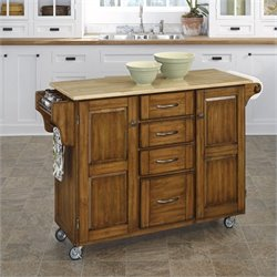 Kitchen Cart in Cottage Oak