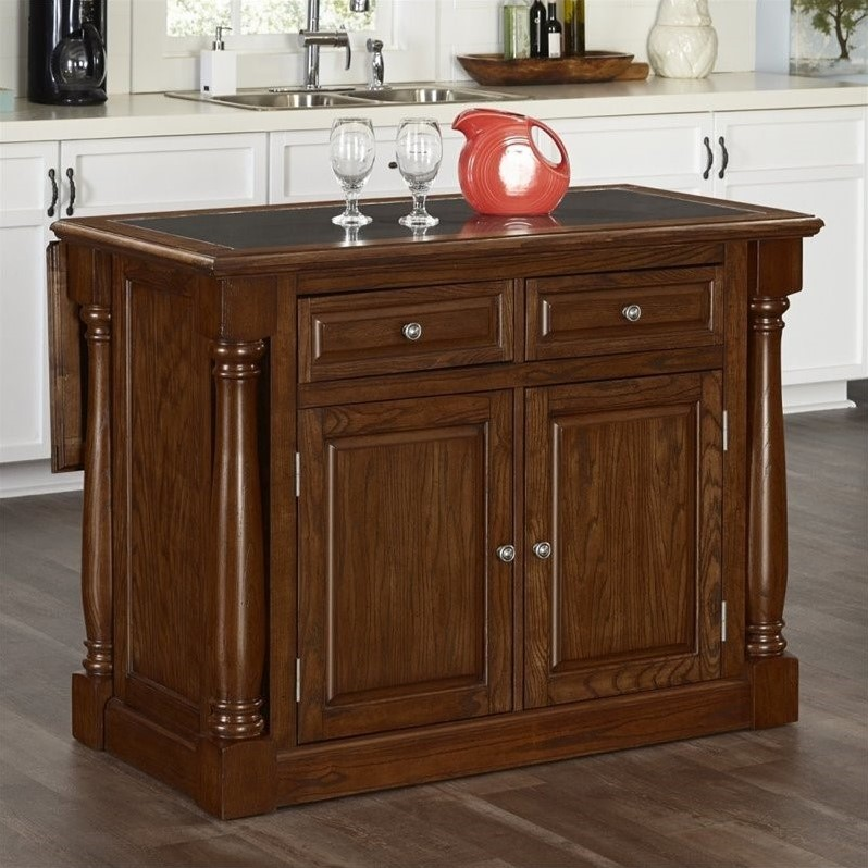 oak kitchen island with granite top kitchen island with granite top in oak 5006 945 27309