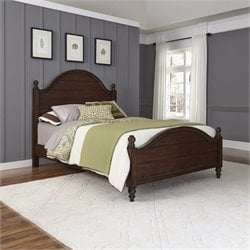 Queen Bed in Aged Bourbon